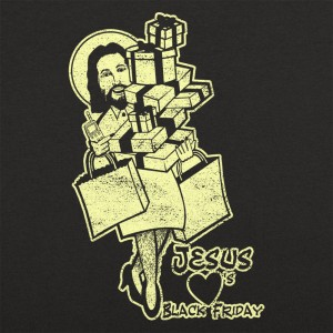 Jesus Hearts Black Friday