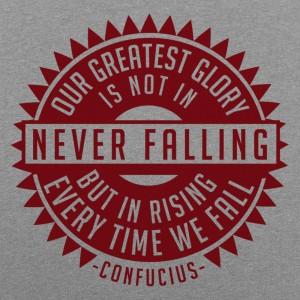 Never Falling Confucius