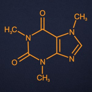 Mighty Caffeine Molecule