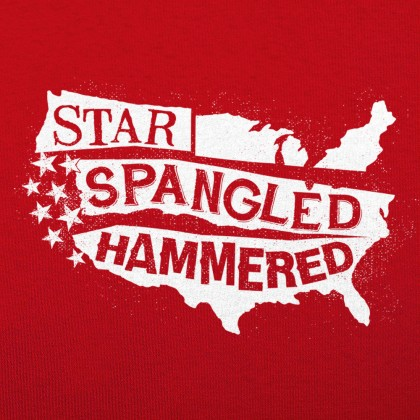 Star-Spangled Hammered