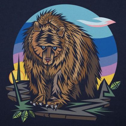 Polygon Bear Graphic