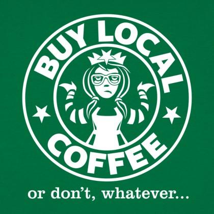 Buy Local Coffee