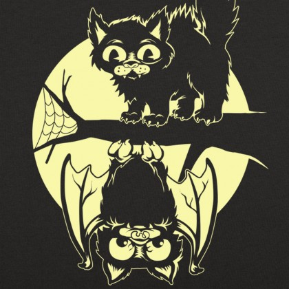 Cat & Bat Halloween