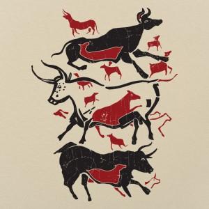 Cave Art Bulls