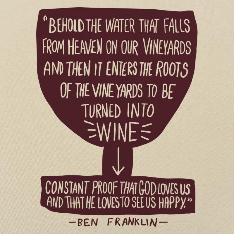 Franklin Wine Quote