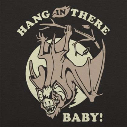 Hang In There Baby Bat