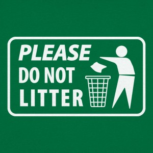 Please Do Not Litter