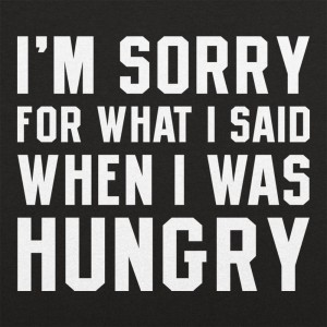 Hungry Apology
