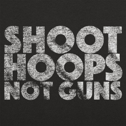 Shoot Hoops Not Guns